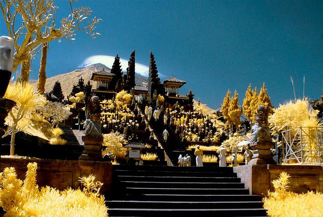 mother temple Ubud Bali Asia