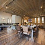 Chalet Ambre living space