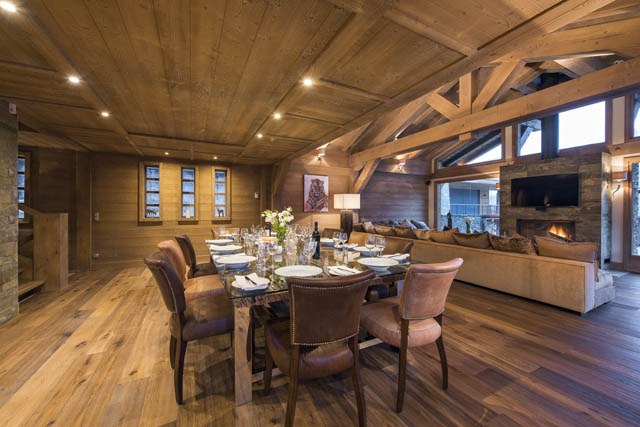 Chalet Opaline Living Space