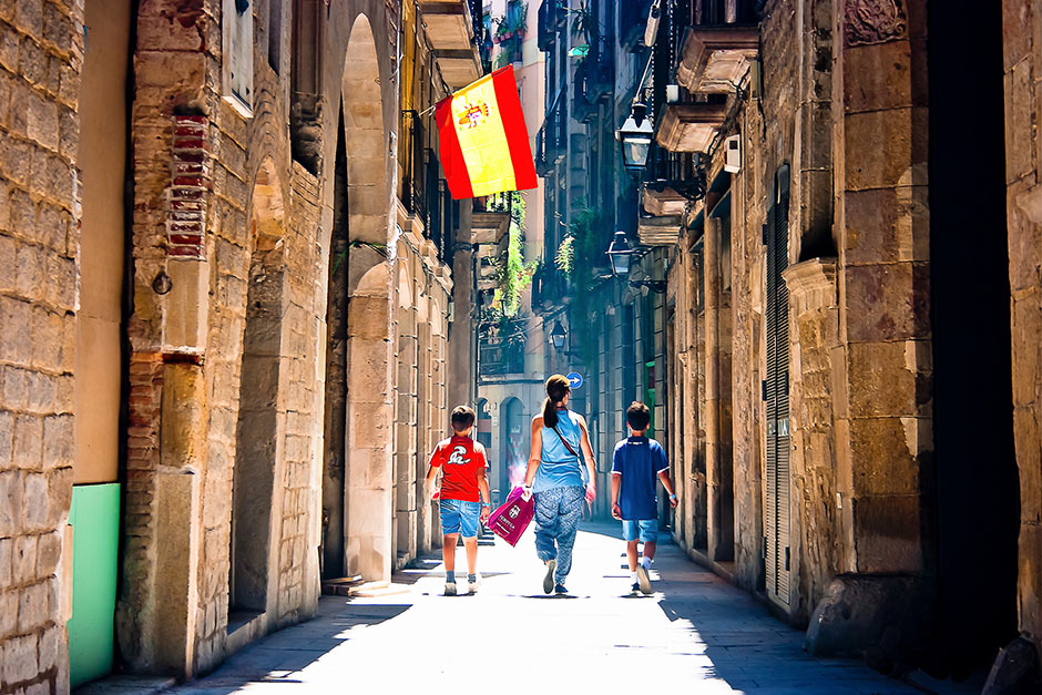 barcelona-on-foot