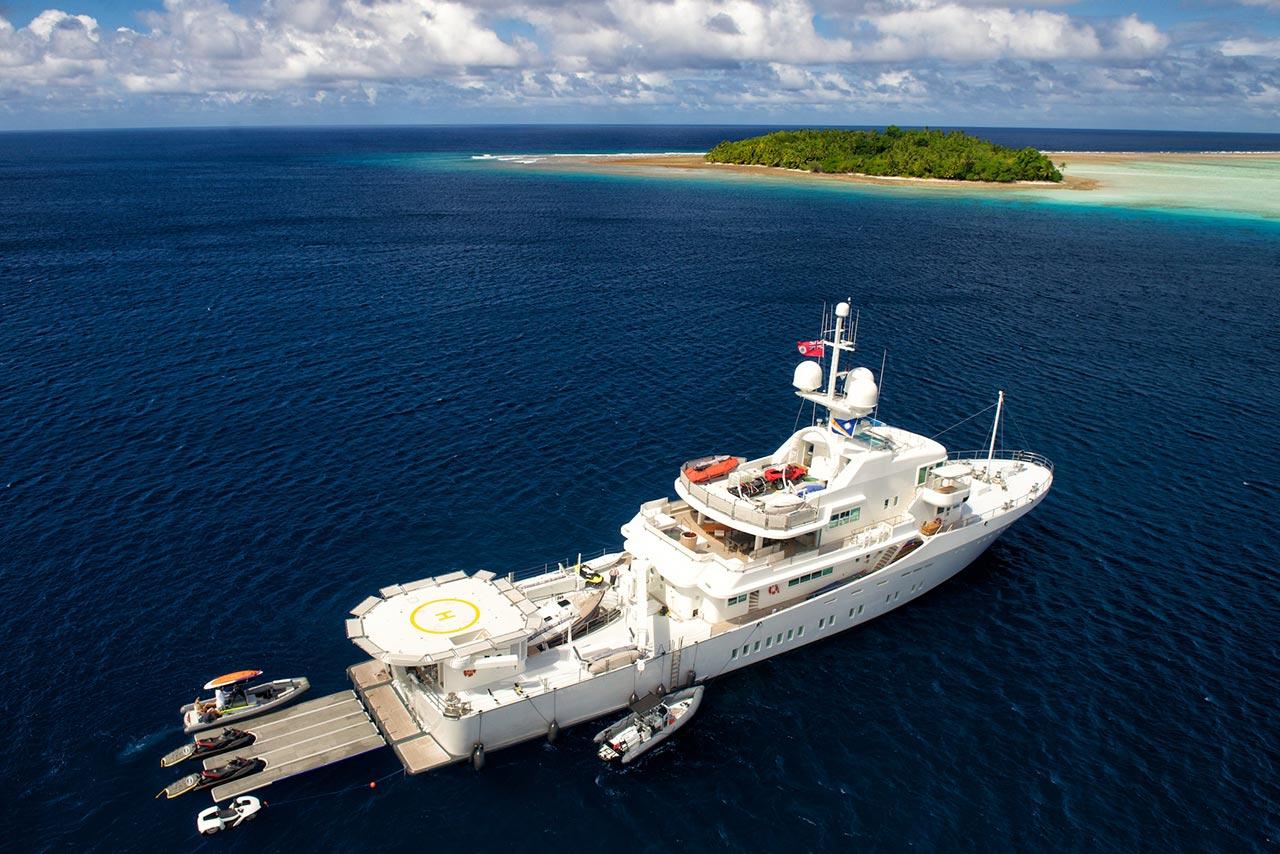 Charter Yacht M Y Senses