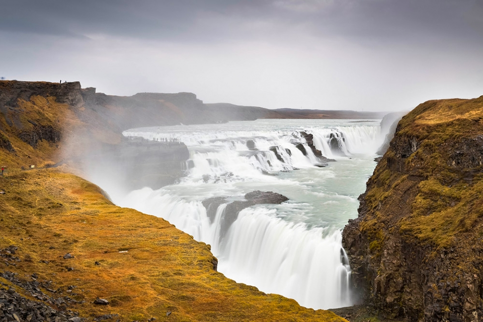 golden-waterfall-REYKJAVIK