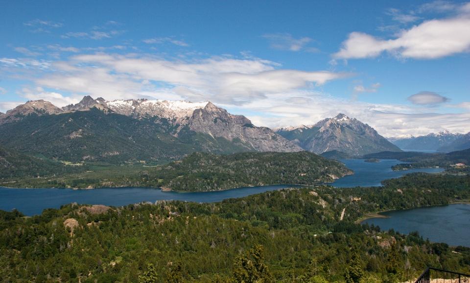 seven lakes patagonia Argentina