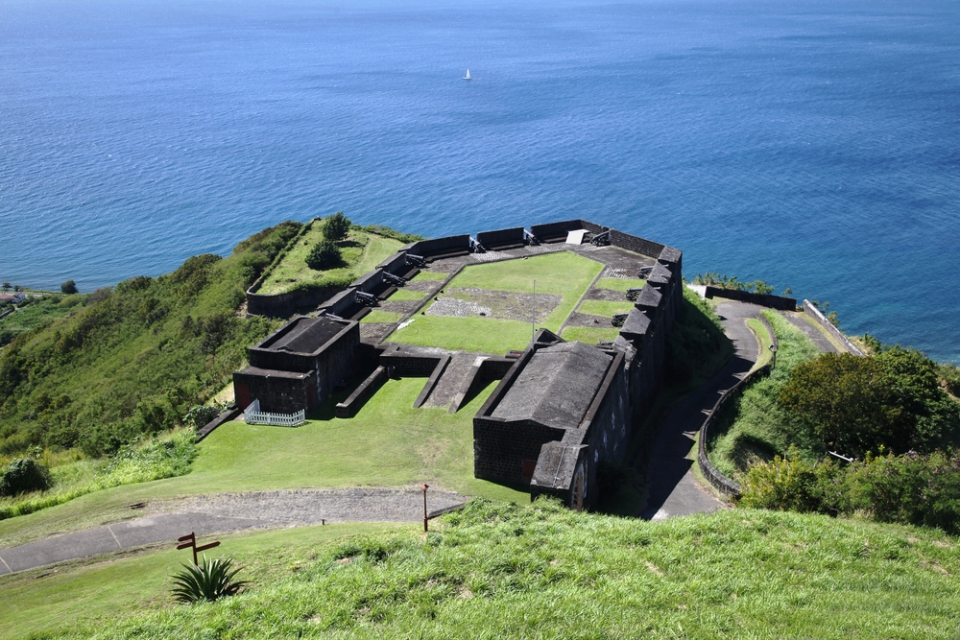 Brimstone-Hill-Fortress-StKitts-Leeward-Islands-Yacht-charter