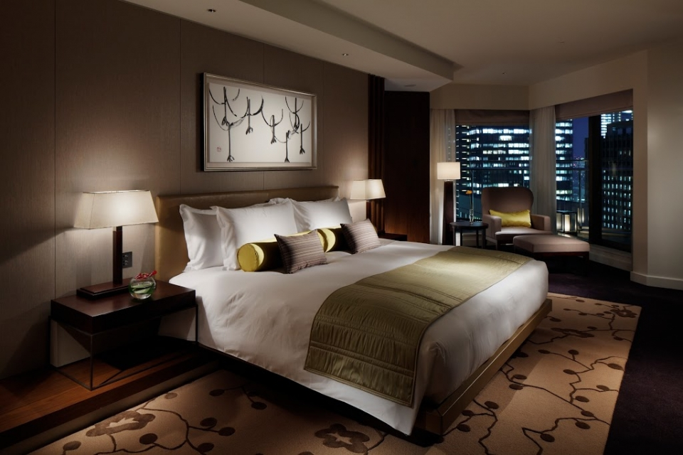 Palace Hotel Tokyo - Terrace Suite Bedroom